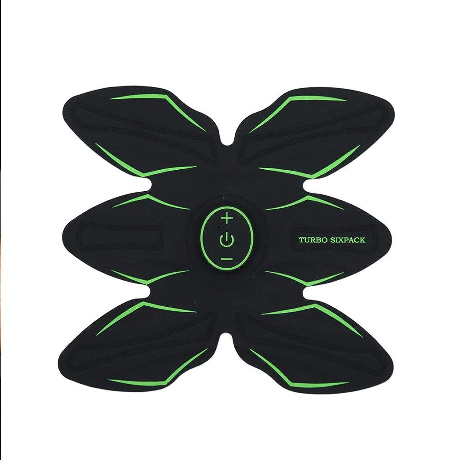 ABSトレーナーEMS腹部電気筋肉刺激装置筋肉トナー調色ベルトフィットネスギアABSエクササイズマシンウエストトレーナーホームワークアウトフィットネス機器