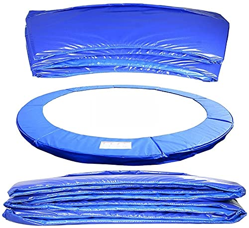 HTDHS 6FT 8FT 10FT 12FT 13FT 14FT 15FT 16FT Premium Premium PRUMPOLINE TRAVILLINE Pad UV Resistente a la Seguridad Guardia Primavera Padding Padds Azul Impermeable Tapa Protectora (Size : 8FT)