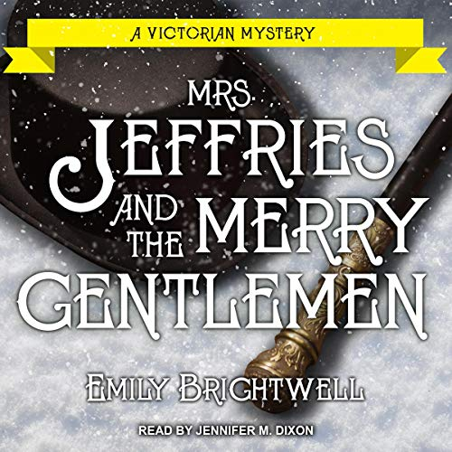 Mrs. Jeffries and the Merry Gentlemen  By  cover art