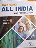 All India NEET Pgmee pattern Volume-1 ( 2020-2016 )