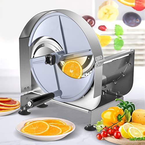 KOSIEJINN Cortafiambres Mano Multifunción Slicer Espiralizador Verduras Profesional Espesor Ajustable 0-12mm con...