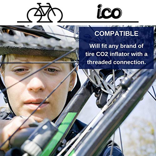 Impeccable Culinary Objects (ICO) ICOC1610T 16G CO2 Cartridges (10 Pack)