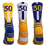 Athletic Socks Basketball Socks Outdoor Sport Mid Calf Crew Socks Cushion Compression Socks for Boys Men...