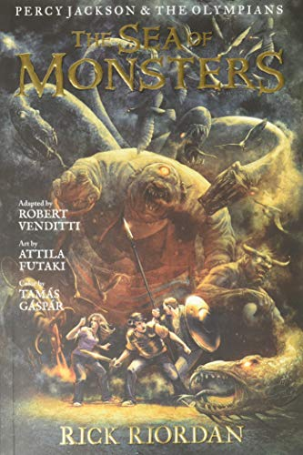 The Sea of Monsters: The Graphic Novel (Percy Jackson and...