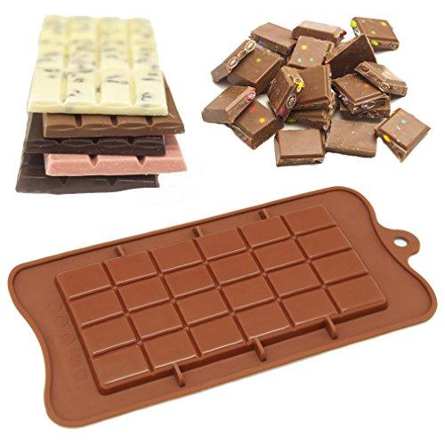 Timetries Silikonform Eiswürfel Süßigkeiten Praline Schokolade Form DIY Backen Fondant Formen Silikon Kuchenform