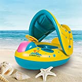 Baby Swimming Float Pool Swim Ring for Kids Inflatable Floating Boat with Seat