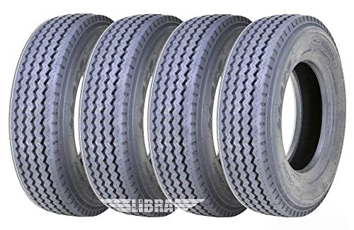 4 New LEAO Heavy Duty All Steel 235/75R17.5 18 PR Rated All Position Truck/trailer Radial Tire