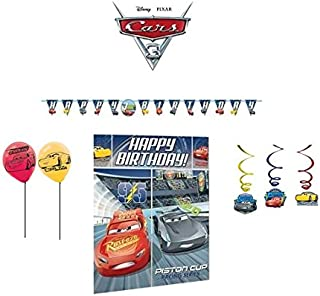 Disney Cars Party Decorations Mega Pack