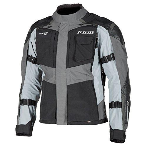 Klim Kodiak Motorrad Textiljacke Schwarz/Grau 52