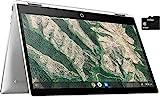 2021 HP X360 2 in 1 Laptop 14' Touch-Screen HD Chromebook, Intel...