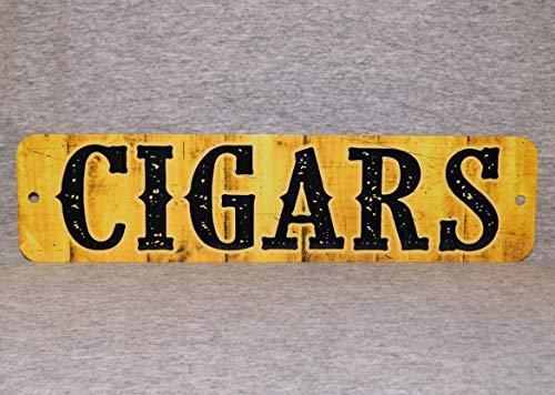 Placa de Metal para Fumar Tabaco, Tabaco, Tabaco, Tabaco, Cubano Amarillo