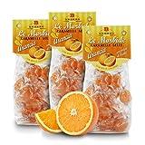 Caramelos Blandos De Naranja Y Miel - 150 Gramos (Paquete de 3 Piezas)