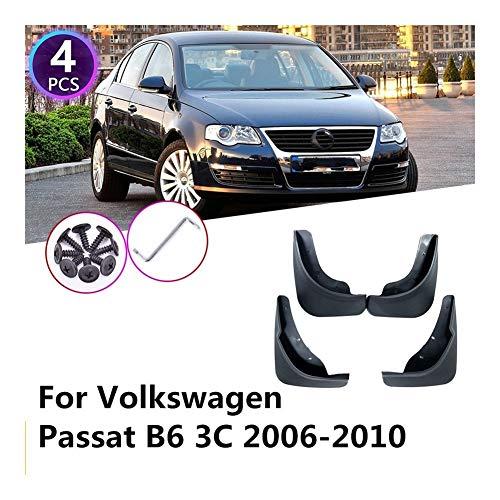 YuChen Auto-Kotflügel Kotflügel Vorn Hinten Schmutzfänger Spritzschutz Täfelung 4Pcs Für VW Volkswagen Passat B6 3C 2006~2010 Mudflaps Fender Kotflügel
