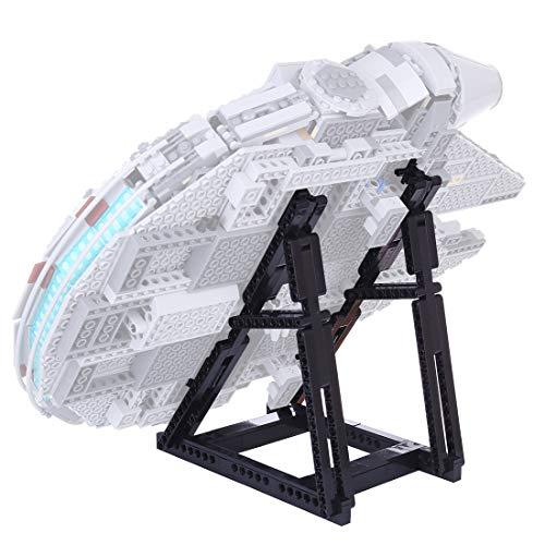 LYCH Lego Star Wars - Soporte para juguetes de construcción del Halcón Milenario para Lego 75257/75212 (solo incluye soporte, no incluye kit Lego)