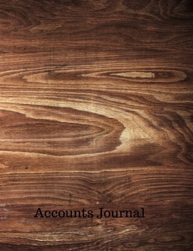 Accounts Journal: Journal For Accounting : General . Notebook With Columns For Date, Description, Reference, Credit, And Debit. Paper Book Pad with 100 Record Pages 8.5 In By 11 In