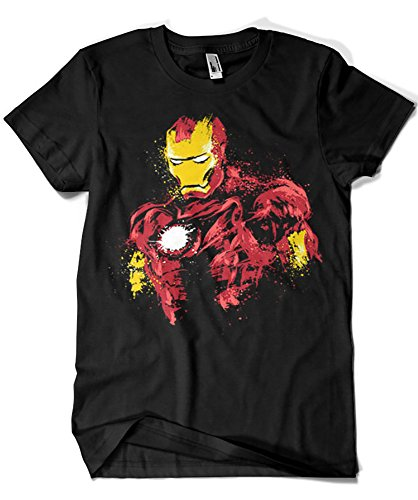 1070-Camiseta Iron Power (Dr.Monekers)