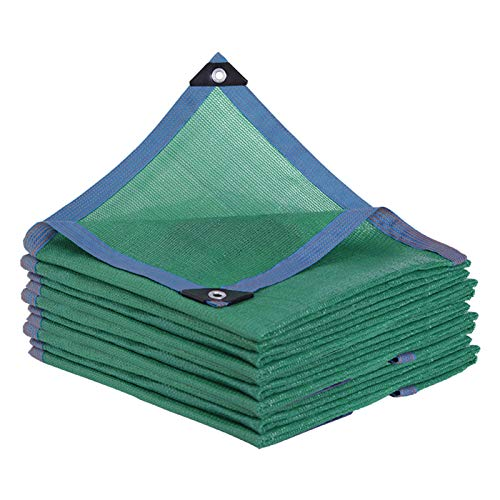 AWSAD Sonnenschutz Schattentuch Beschattungsnetz Im Freien, für Garden Greenhouse Carport Shelter, Anti-Aging-Belüftung Langlebig, 19 Größen (Color : Green, Size : 2x2m)