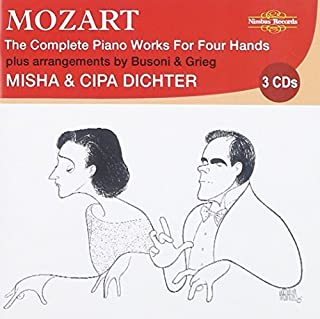 Mozart, The Complete Piano Works for Four Hands by Misha Dichter (2009-08-11)