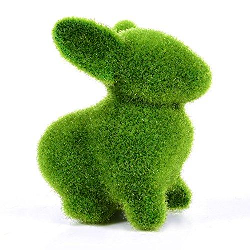 Adorno imitacion hierba diseño conejo para jardin terrazas casas invernaderos de OPEN BUY