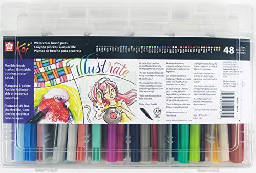 Sakura Koi Assorted Color Brush Pen Set