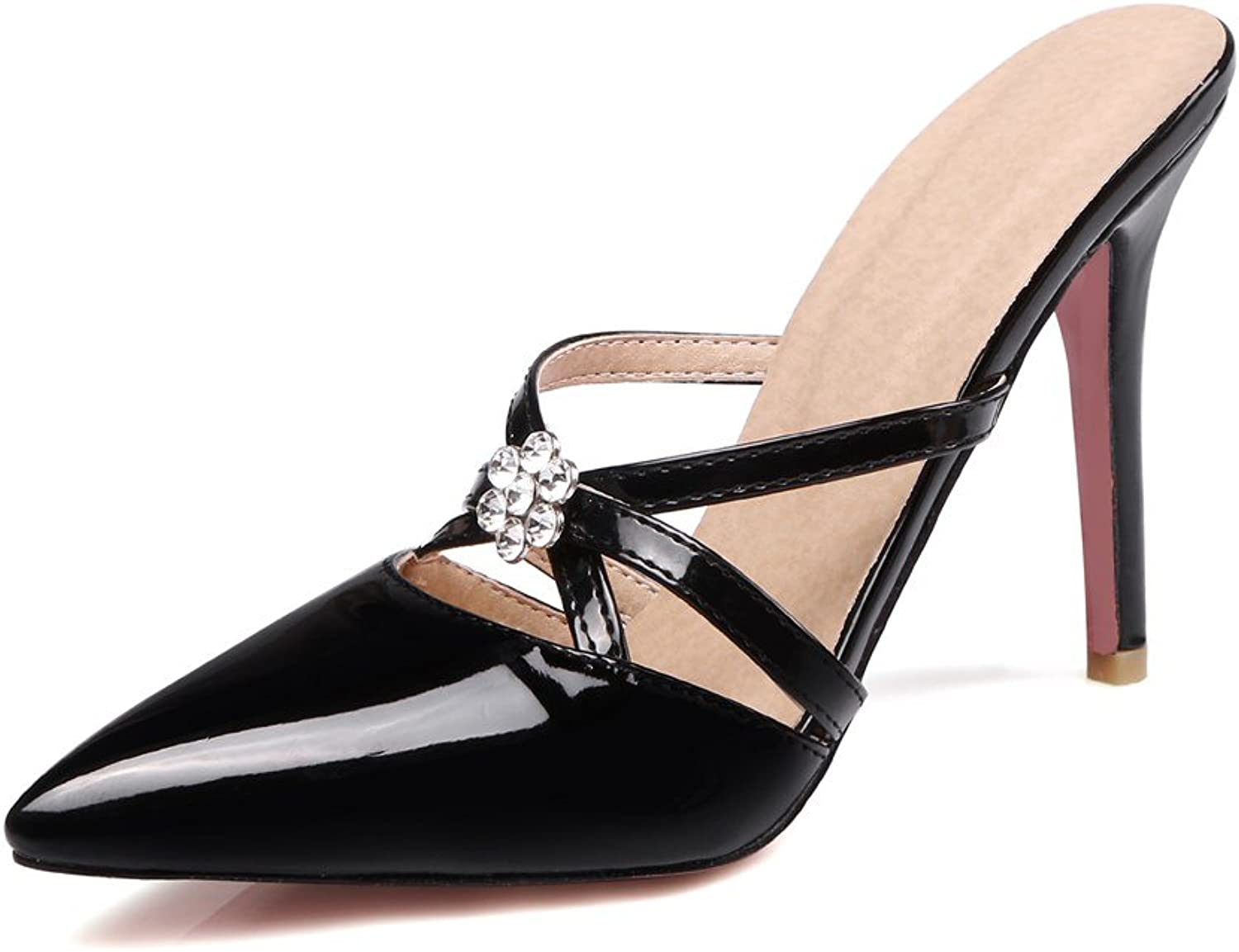 KingRover Womens Sexy Slingback Stiletto High Heel Party Pumps shoes