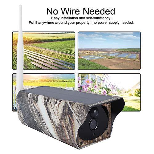 1080P HD Wifi Zonne-energie Beveiliging IP Camera voor binnen/buiten Draadloze bewaking nachtzichtcamera voor thuiskantoor