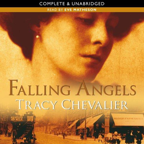 Falling Angels audiobook cover art