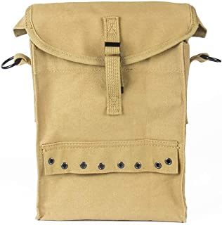OLEADER WW2 US Army WW2 Medic Bag Military First Aid Carry Pack Pouch,Khaki