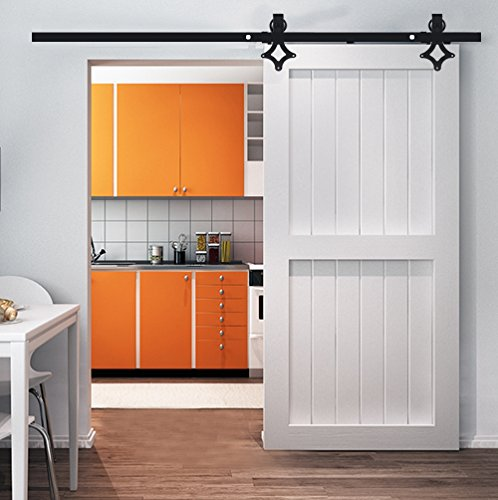 Solong Set voor schuifdeur, schuifdeur, schuifdeur, voor binnendeur, scheidingswanden, grote kast 2m Model 2