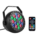 MFL. Par Lights Stage LED Lights RGB Color Mixing Wash with Built-in Sound Activated Remote and DMX Modes for Club Christmas Wedding Party Indoor Event