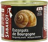 Sabarot - Escargots de Bourgogne 2 douzaines 125g