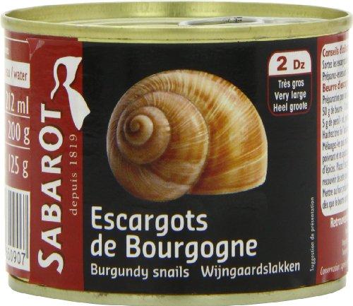 escargots en conserve chez leclerc