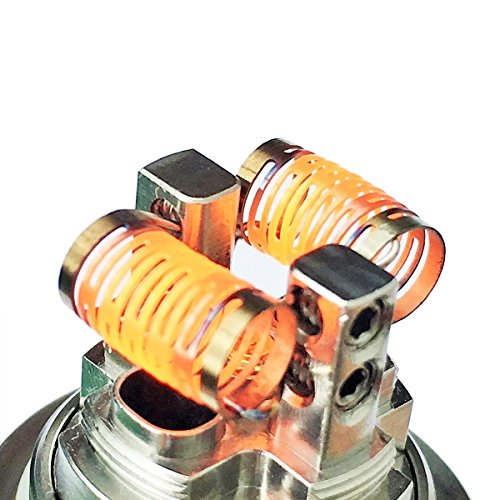 10x - Demon Killer Notch Coil 0.2 Ohm 50 W Wicklung Edelstahl 316L Selbstwickler Draht Wire RDA RBA RTA RDTA