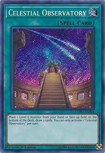 Yu-Gi-Oh! - Celestial Observatory - CYHO-EN064 - Secret Rare - Unlimited Edition - Cybernetic Horizon
