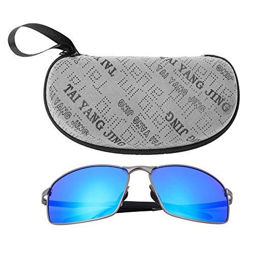 VGEBY zonnebril, gepolariseerd, uniseks, modieus, mooi frame, vierkant, kleurverandering, zonnebril, veiligheidsbril, nachtzicht, voor het vissen op het stuur