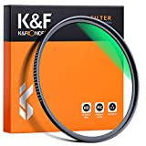 K&F Concept 58mm MC UV Protection Filter, 18 Multi-Layer Coated HD/Waterproof/Scratch Resistant UV Filter with Nanotech Coating, Ultra-Slim UV Filter for 58mm Camera Lens