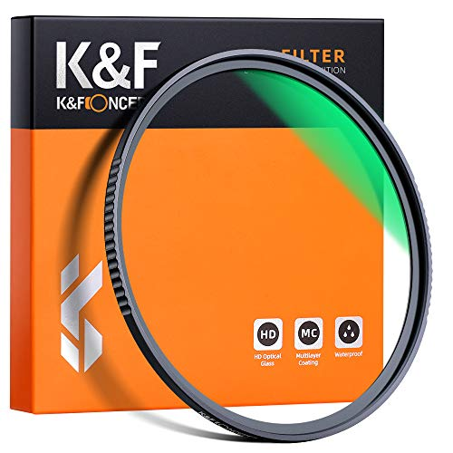 K&F Concept 43mm MC UV Protection Filter, 18 Multi-Layer Coated...