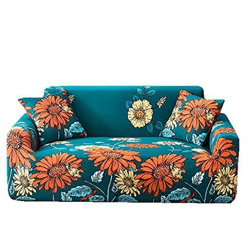HJFGIRL Sofa Throw, Elastic Sofa Throws, Stretch Sofa Cover, Non-Slip Couch Cover, Sofa Cover, Armchair Cover, Furniture Protector, 1 Piece,A-140-180CM