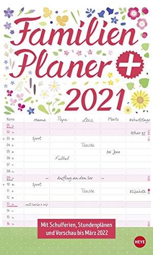 Familienplaner plus Tasche Kalender 2021