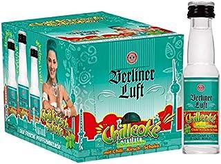 Berliner Luft Chilleoke 18% Vol. a 24 x 20ml Chili,Schoko,Kirsch Pfefferminzlikör