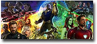 Avengers Infinity War Poster - Movie Promo 17 x 8 inches Wide Comic Con