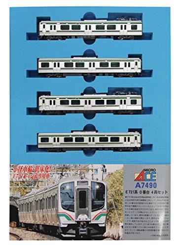 マイクロエース Nゲージ E721系 0番台 4両セット A7490 鉄道模型 電車