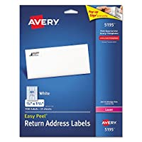 Easy Peel Laser Address Labels, 2/3 x 1-3/4, White, 1500/Pack (並行輸入品)