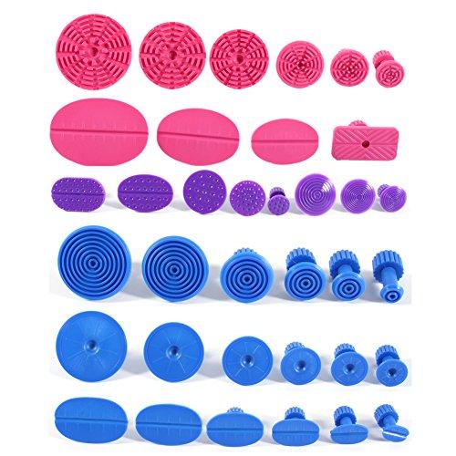 36Pcs Puller Tabs , Kleber Puller Tabs Removal Body Hagel Damage Remover Kits für Kfz SUV 36 Pcs Auto Puller Tabs