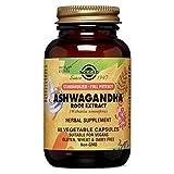 Solgar Ashwagandha - Extracto estandarizado de raíz de Ashwagandha. Planta ayurvédica. Apto para veganos