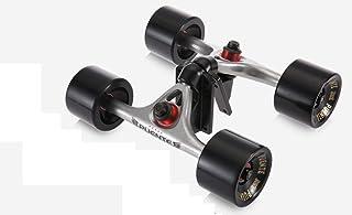 [TIWWS]2pcs スケートボードトラック/ベンチャー (スケートホイール+ライザーパッド+ベアリング+ハードウェアアクセサリーインストールツール)