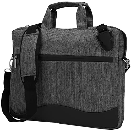 Black Anti-Theft Laptop Messenger Bag for Microsoft Surface Pro 7 6 12.3, Pro X 13, Laptop 4 3 2 13.5'