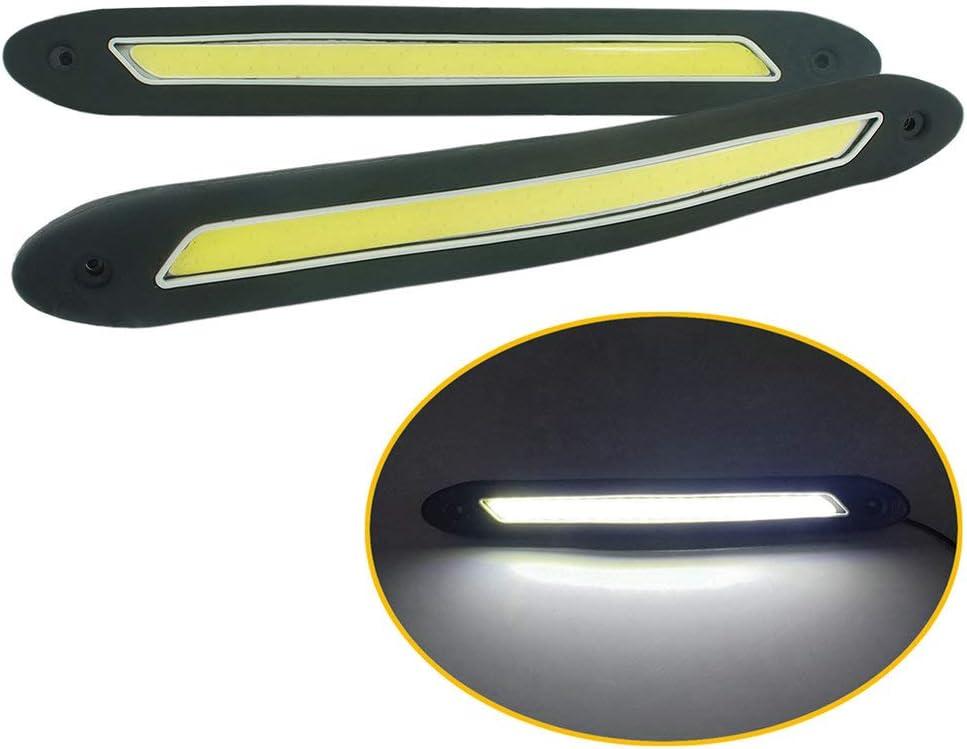 QIDIAN 2 pcs Car LED Waterproof Driving 12V DRL Led Max 5 ☆ very popular 56% OFF S Lights Fog