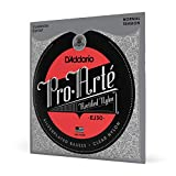 D'Addario ダダリオ クラシックギター弦 Classics Silver Wound/Rectified Clear Nylon Normal EJ30 【国内正規品】