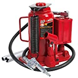 BIG RED TA92006 Torin Pneumatic Air Hydraulic Bottle Jack with Manual Hand Pump, 20 Ton (4...